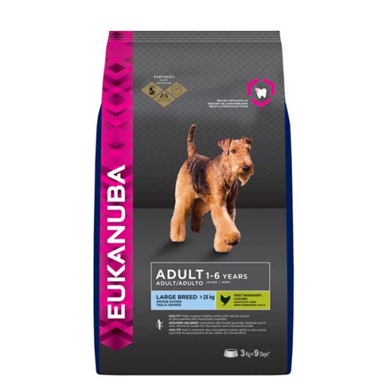 Eukanuba Dog Adult Large Breed - за кучета от едри/гигантски породи над 25кг