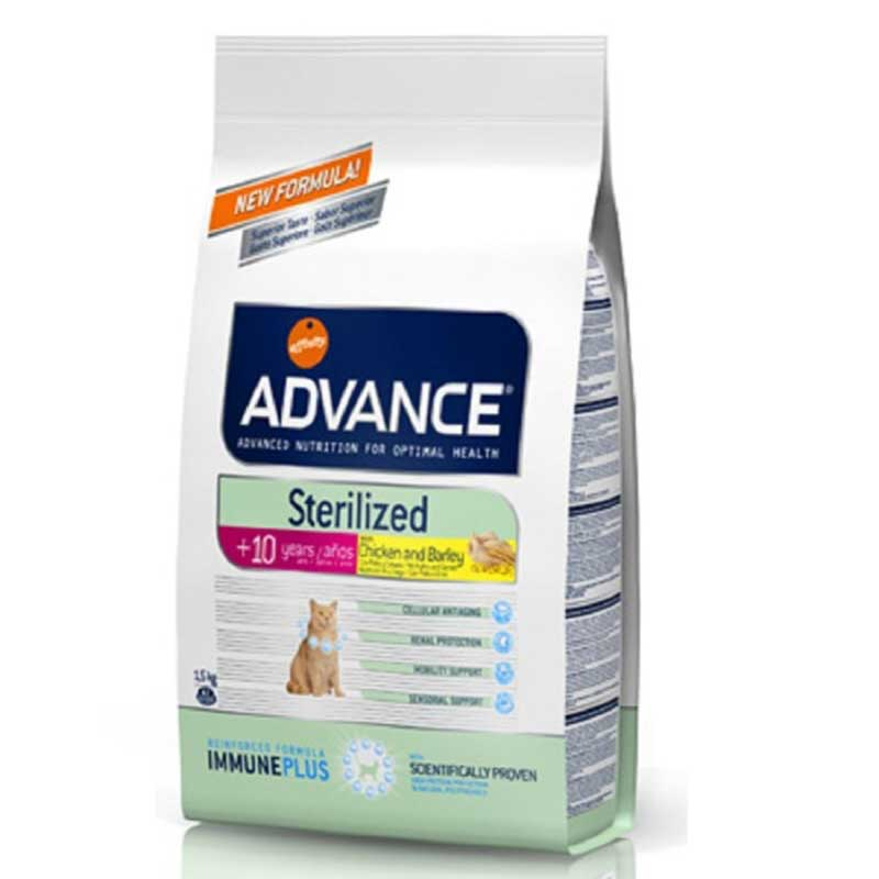 Advance Sterilized Senior Chicken and Rice 1.5кг