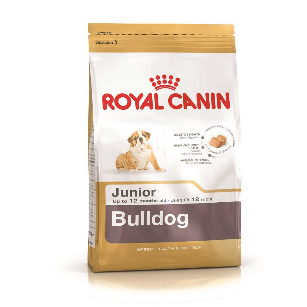 Royal Canin Bulldog 30 Junior - за кученца от порода Булдог