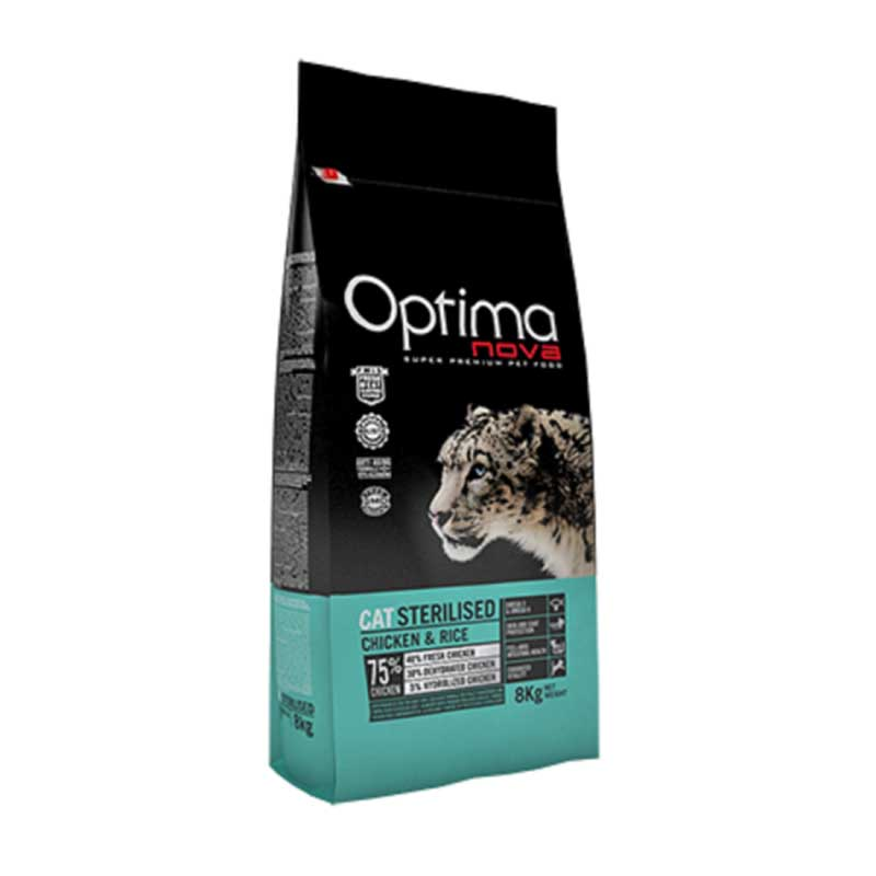 Optima Cat Sterilised Chicken 2кг