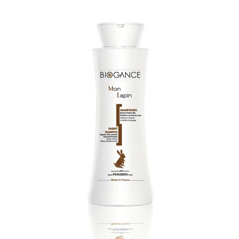 Biogance Rabbit shampoo - шампоан за декоративни мини зайчета 150мл