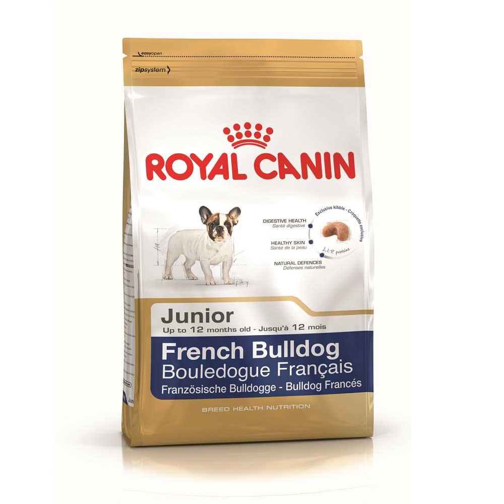 Royal Canin French Bulldog 30 Junior - за кученца от порода Френски Булдог