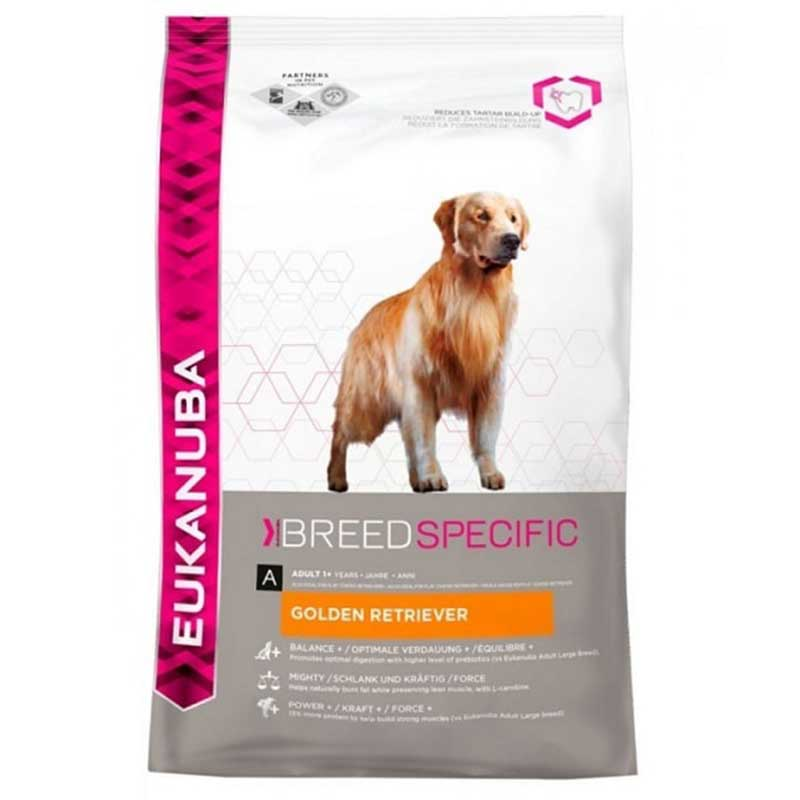 Eukanuba Golden retriever - за кучета от порода Голдън Ретривер 12кг