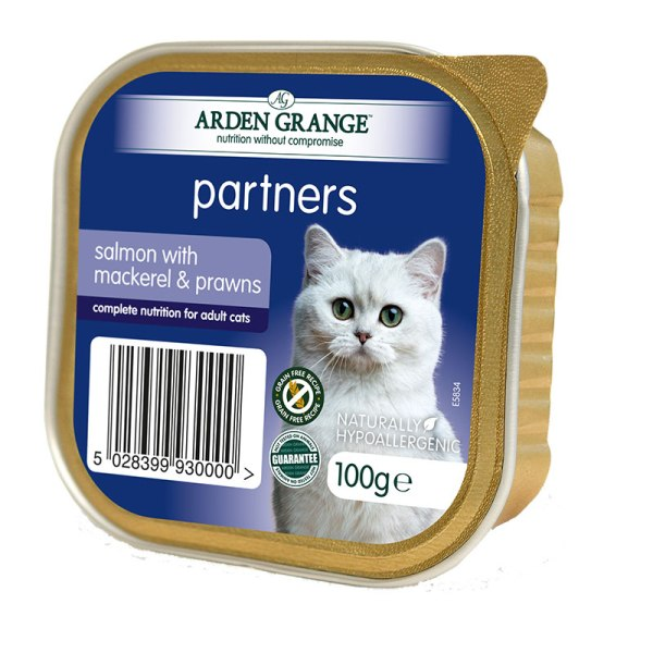 Arden Grange -  пастет със сьомга   2бр + 1 безплатен