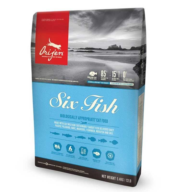 Orijen Six Fish /с шест вида риба/ 5.4кг