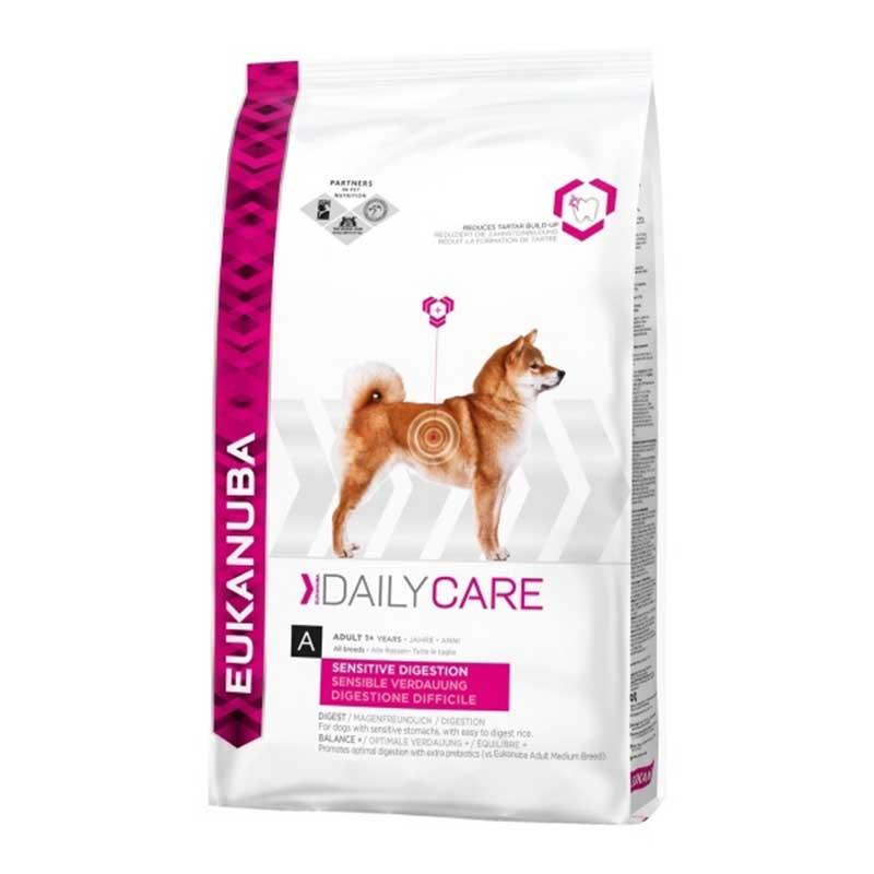 Eukanuba Daily Care Sensitive Digestion - за кучета с чуствителна храносмилателна система