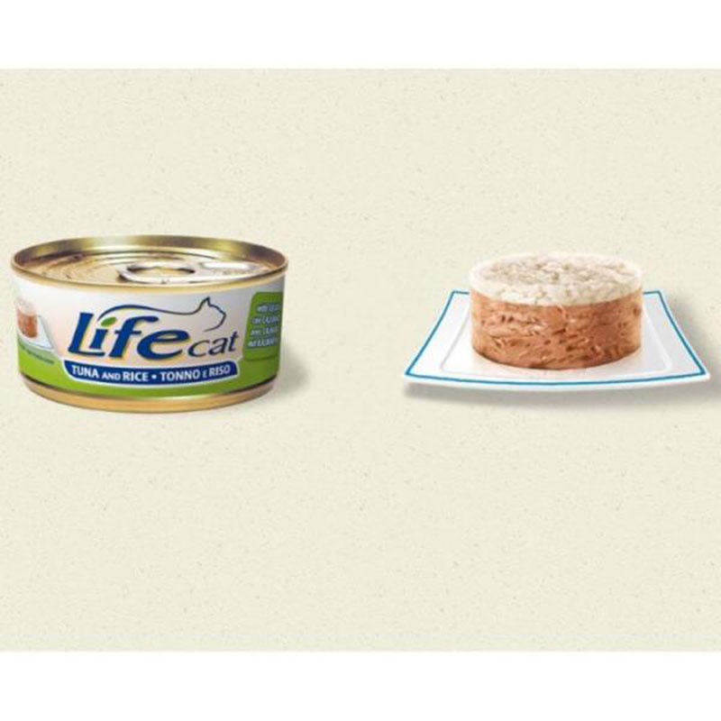 Life Natural Lifecat Tuna Sepia and Rice - с риба тон, пилешко филе и ориз 170гр