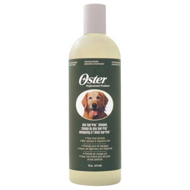 Oster Aloe Tear Free Shampoo - шампоан без сълзи с алое вера 473мл /разреждане 1:10/
