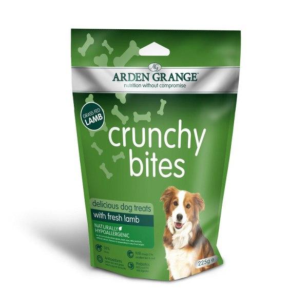 Arden Grange Crunchy Bites Lamb - хрупкави бисквити с Агнешко месо 225гр