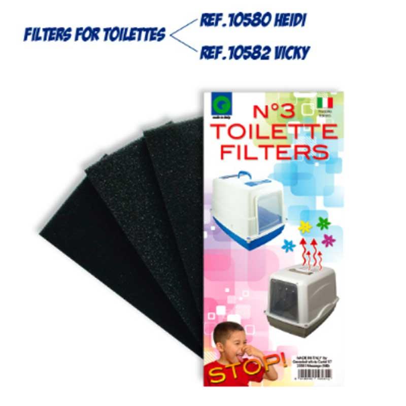 Georplast - филтър за котешка тоалетна 3бр