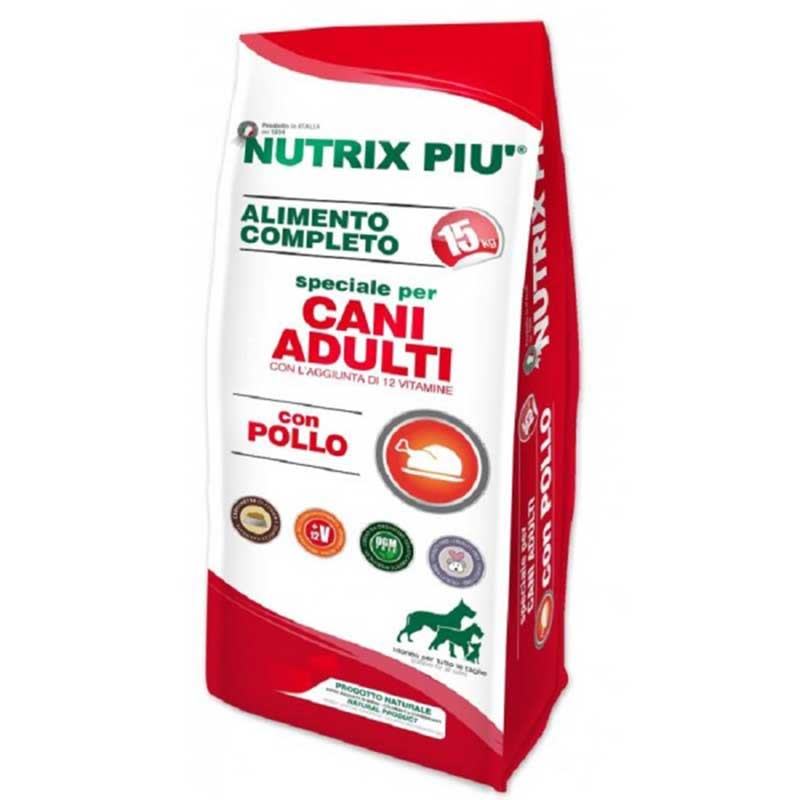 Nutrix Piu Adulti Con Pollo 15 кг