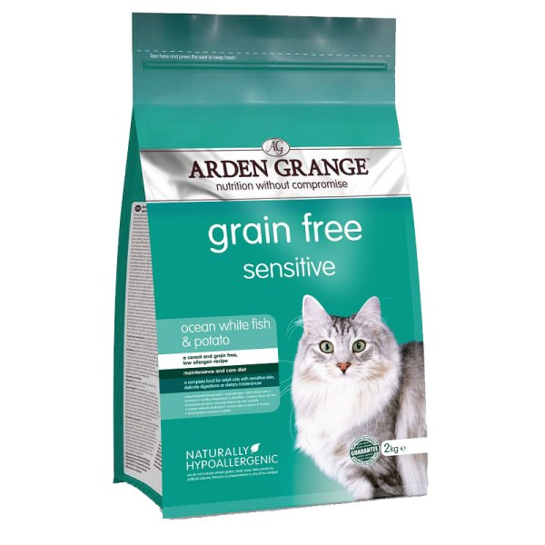 Arden Grange Sensitive - с бяла риба и картофи
