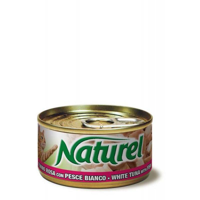 Life Natural Naturel White Fish with Tuna - с филе от риба тон и бяла риба 70гр