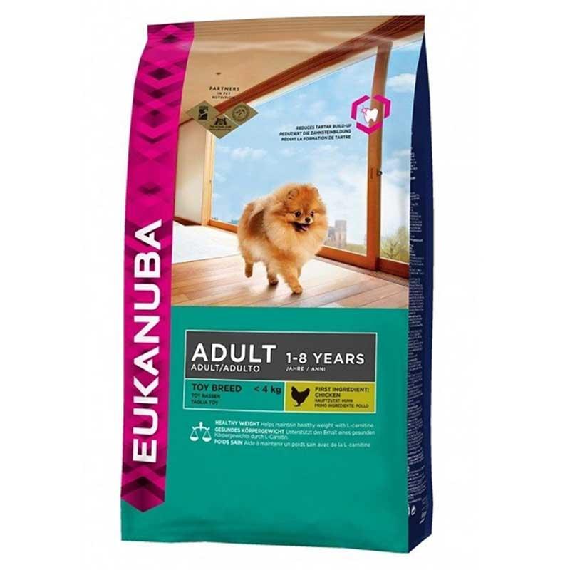 Eukanuba Dog Adult Toy Breed - за кучета от малки породи до 4кг