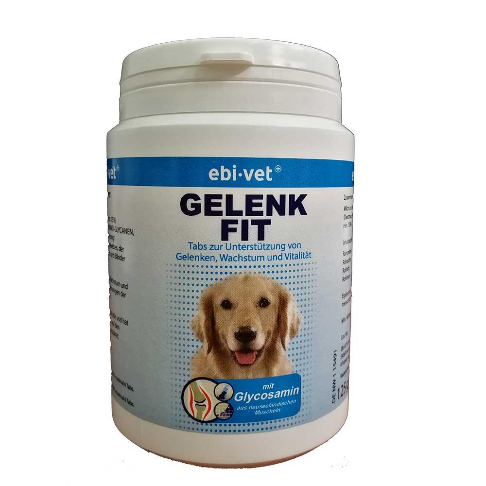 Ebi-Vet Gelenk Fit - за профилактика и лечение на дегеративни ставни заболявания 125гр/250таб