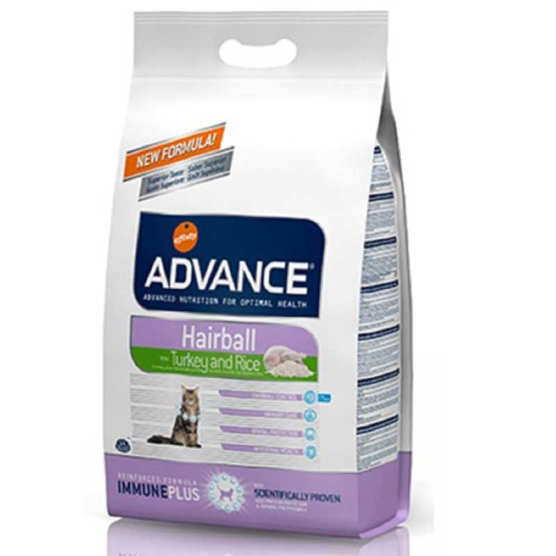 Advance Hairball Turkey and Rice 1.5кг