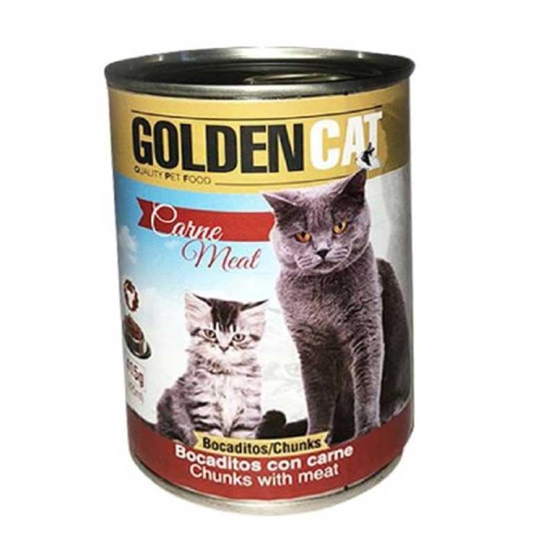 Piensos Ortin Golden Cat Carne Meat 415гр