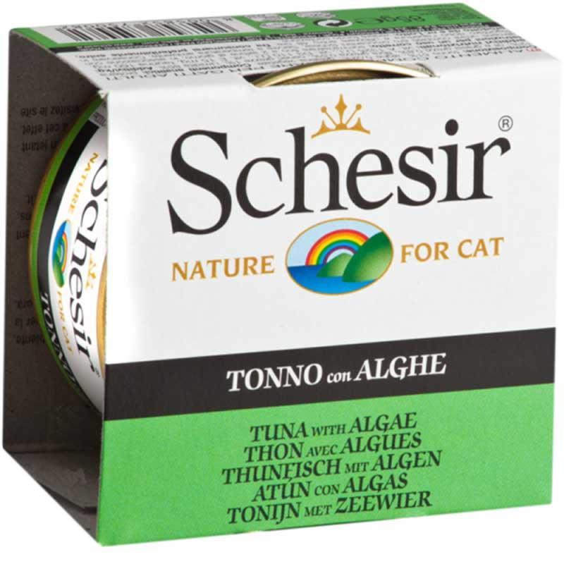 Schesir Nature Tuna with Seaweed - риба тон с морска трева 85гр