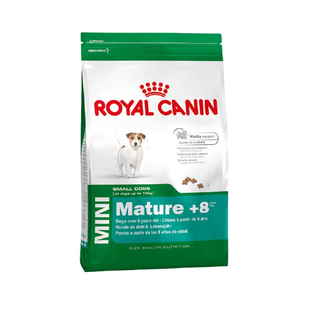 Royal Canin Mini Mature +8 - за малки породи кучета над 8 години