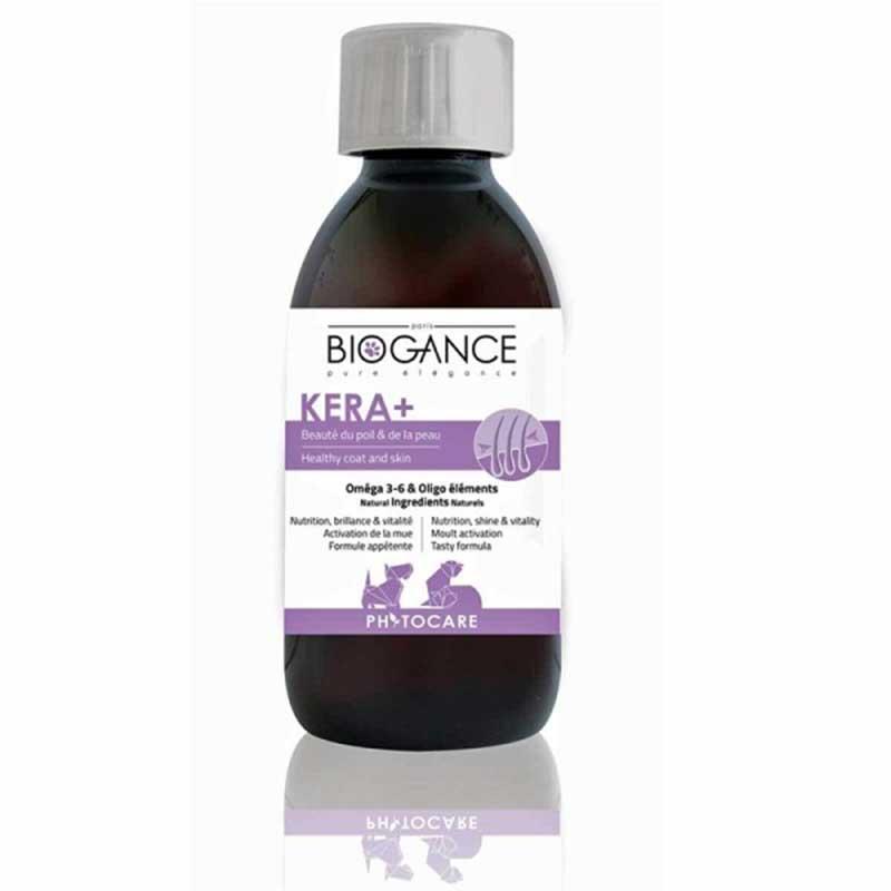 Biogance Kera+ - есенциални мастни киселини с овлажняващи и подхранващи свойства 200мл