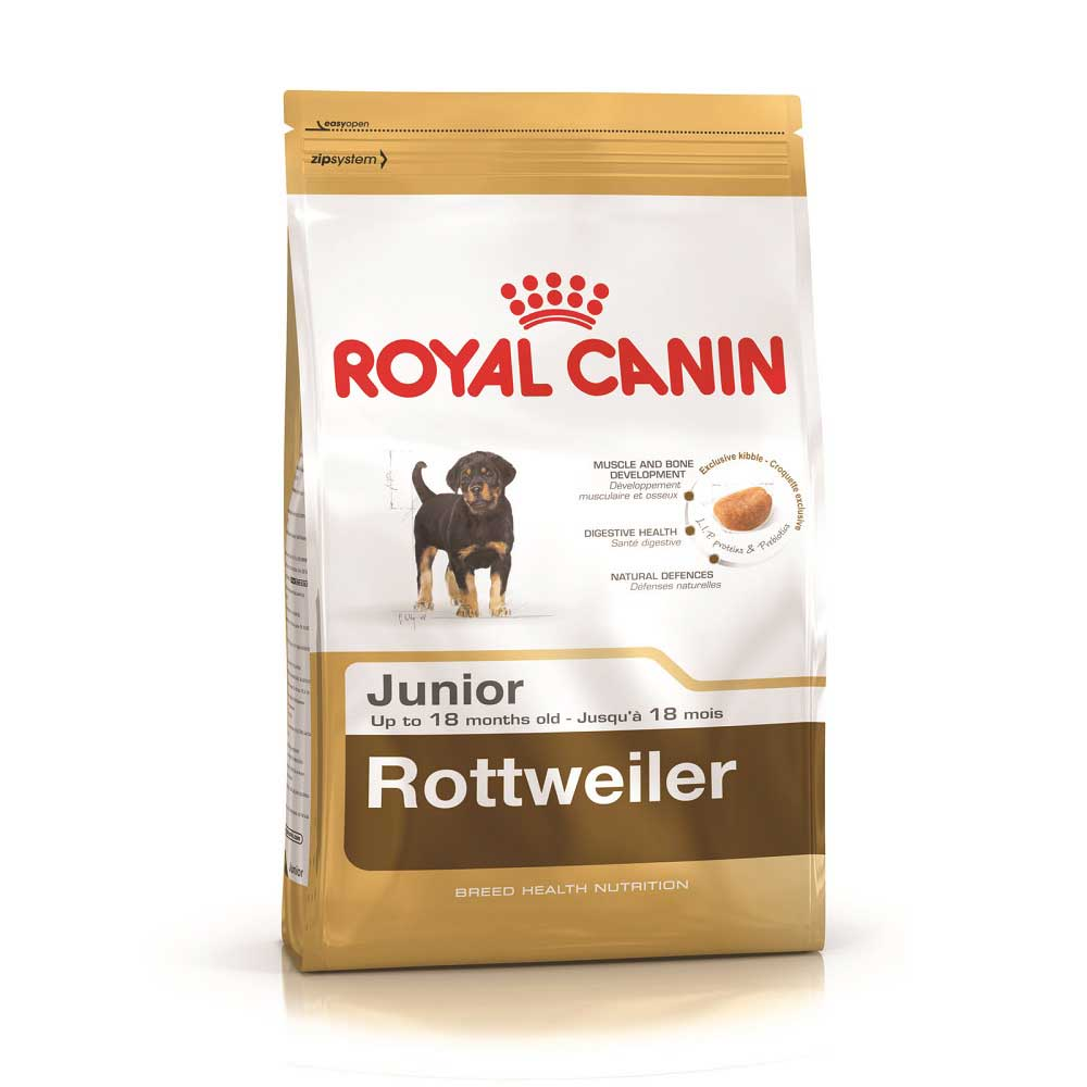 Royal Canin Rottweiler 31 Junior - за кученца от порода Ротвайлер