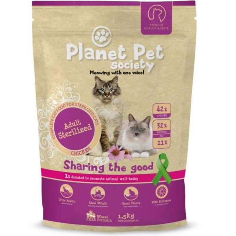 Planet Pet Society Adult for Sterilized Cat Chicken
