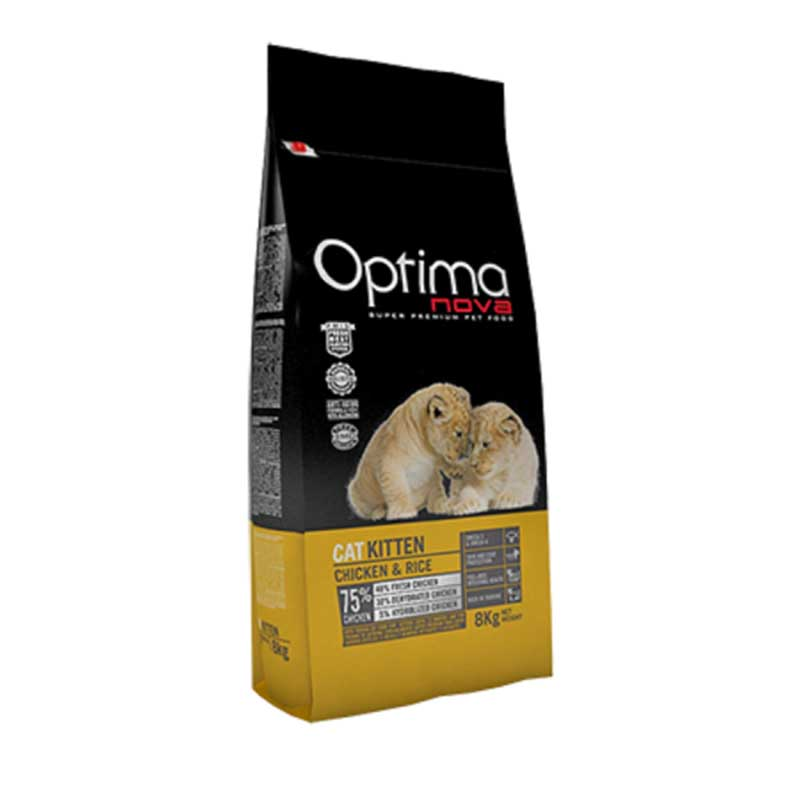 Optima Cat Kitten Chicken 2кг