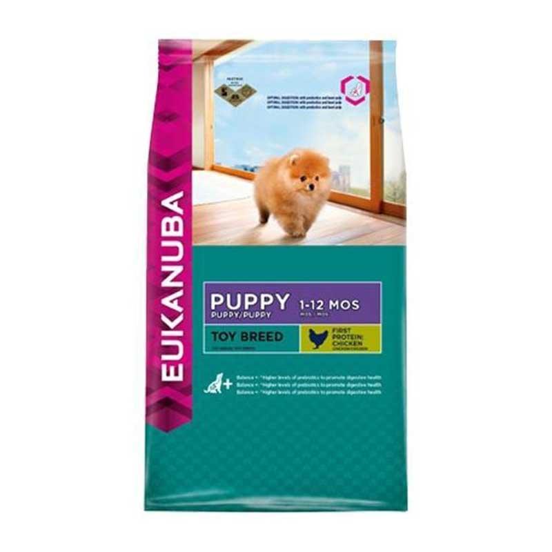 Eukanuba Puppy Toy Breed - за кученца от малки породи до 4кг 800гр