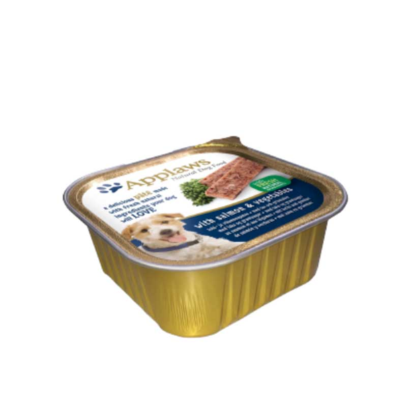 Applaws Pate with Salmon and Vegetables - пастет със сьомга и зеленчуци 150гр