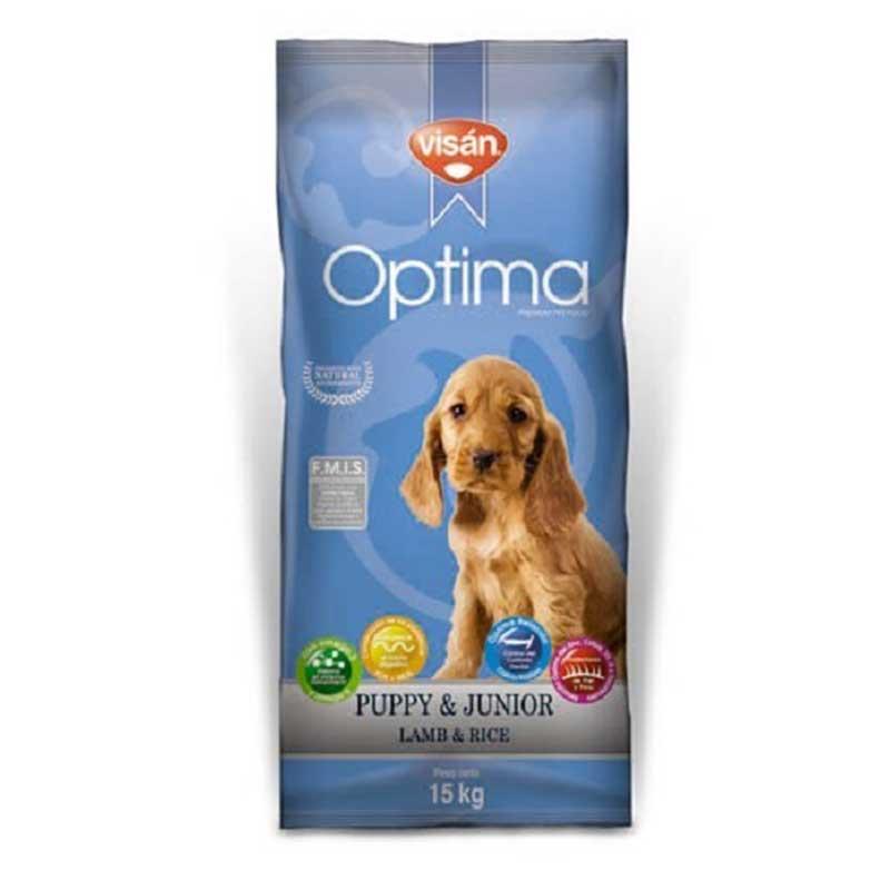 Optima Puppy Lamb & Rice - с агнешко месо