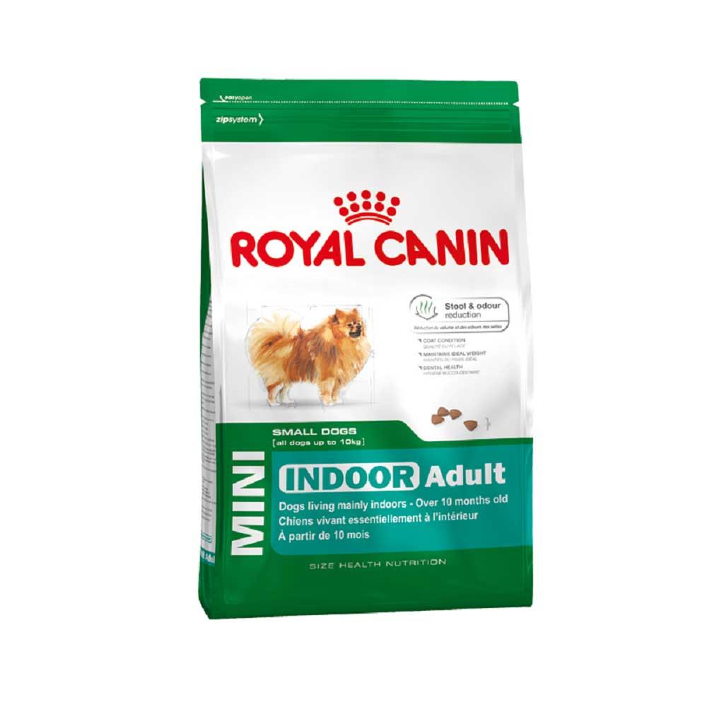 Royal Canin Mini Indoor Adult - за малки породи кучета живеещи на закрито