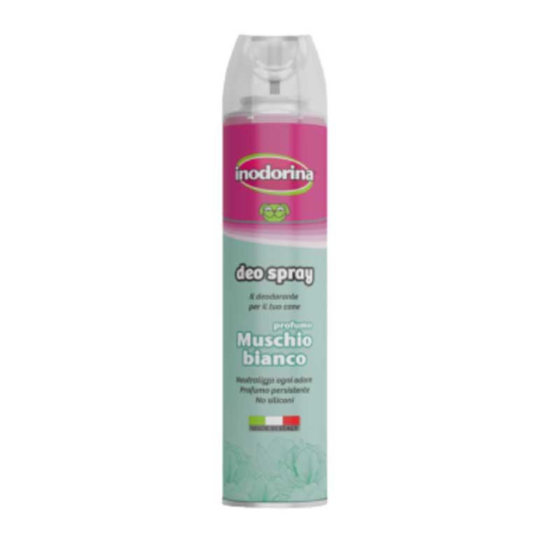 Inodorina Deo Spray - спрей за бързо и лесно разресване с Бял Мускус 300мл