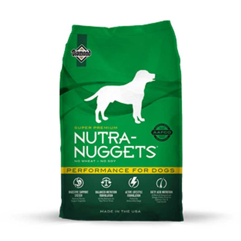 Nutra Nuggets Performance - пълноценна храна за кучета с умерена физическа активност