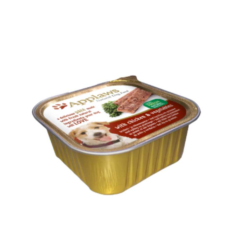 Applaws Pate with Chicken and Vegetables - пастет с пилешко месо и зеленчуци 150гр