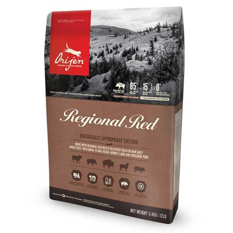 Orijen Regional Red /с прясно червено месо/ 5.4kg