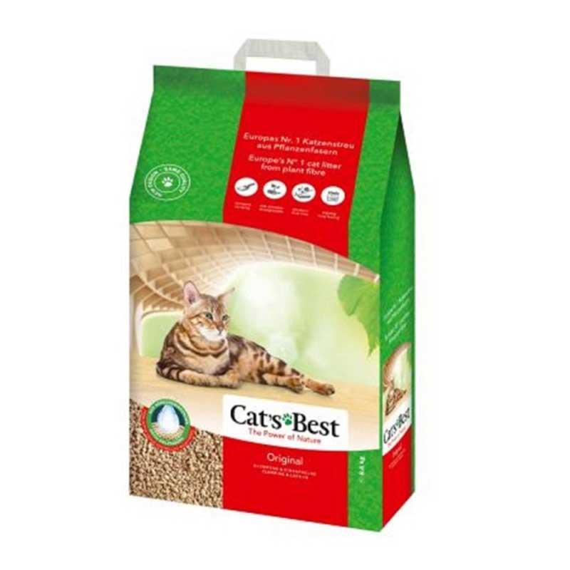 Cats Best Original - натурална котешка тоалетна,без изкуствени и химически агенти 10л