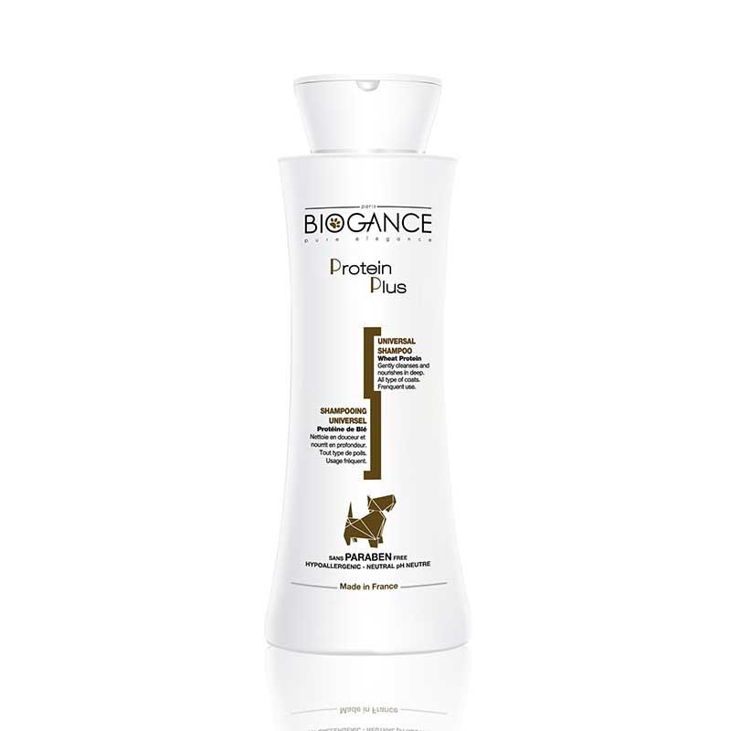 Biogance Protein plus shampoo - подхранващ шампоан с протеини 250мл