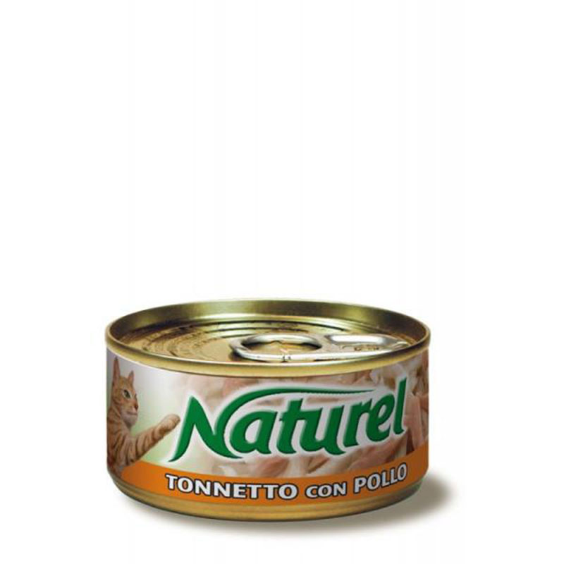 Life Natural Naturel Tuna with Chicken - с филенца риба тон и пилешко месо 70гр