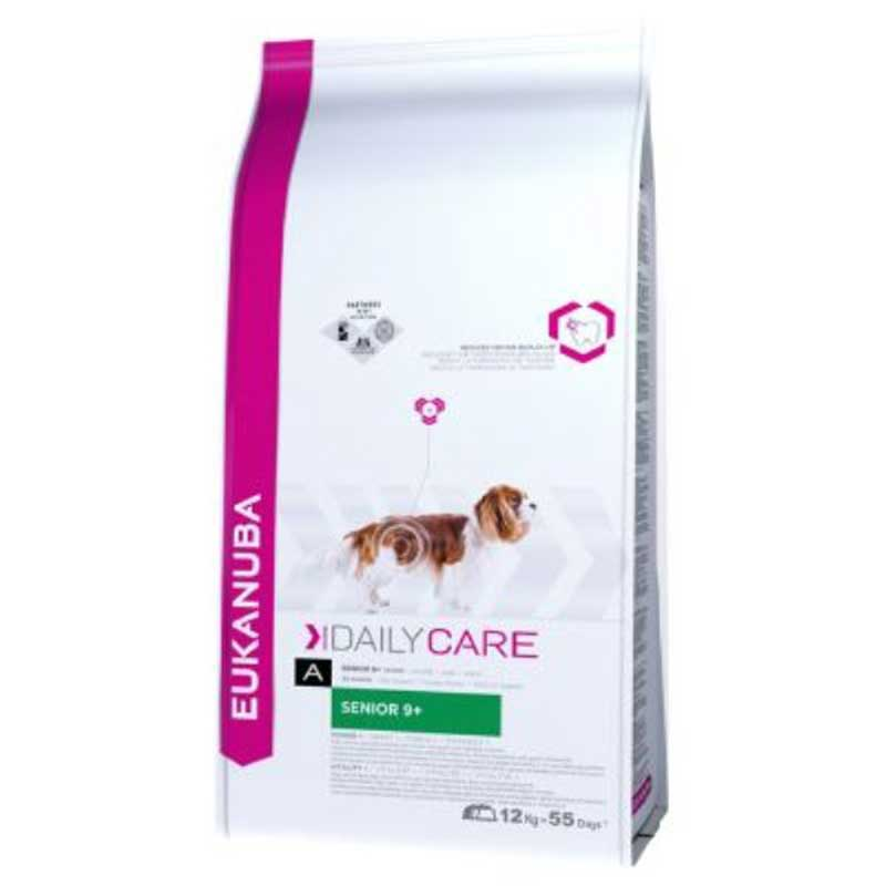 Eukanuba Daly Care for Senior 9+ Chicken - за кучета над 9 годишна възраст