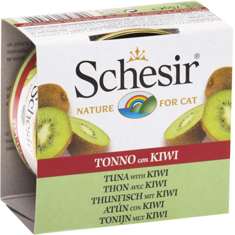Schesir Nature Tuna with Kiwi - риба тон с киви 75гр