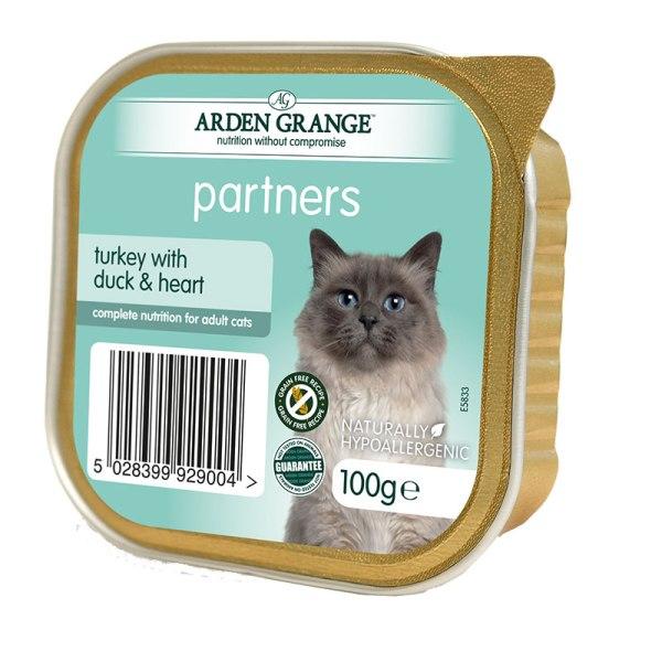 Arden Grange - пастет с пуешко с патица и сърца   2бр + 1 безплатен