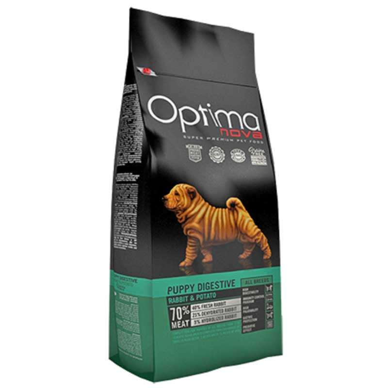 Optima Nova Puppy Digestive Rabbit & Potato