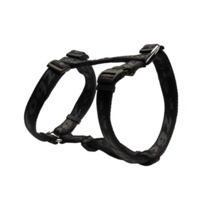 Rogz Alpinist A - черен нагръдник за кучета
