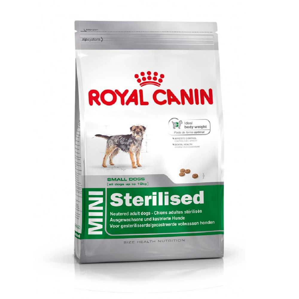 Royal Canin Mini Sterilised - за кастрирани кучета от малки породи