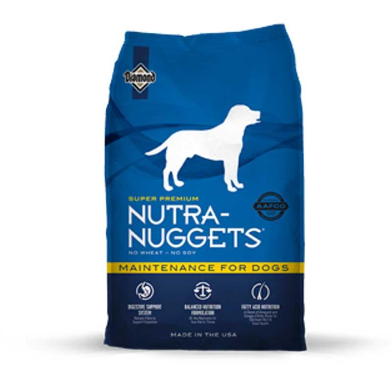 Nutra Nuggets Maintenance - пълноценна балансирана храна за кучета 15кг