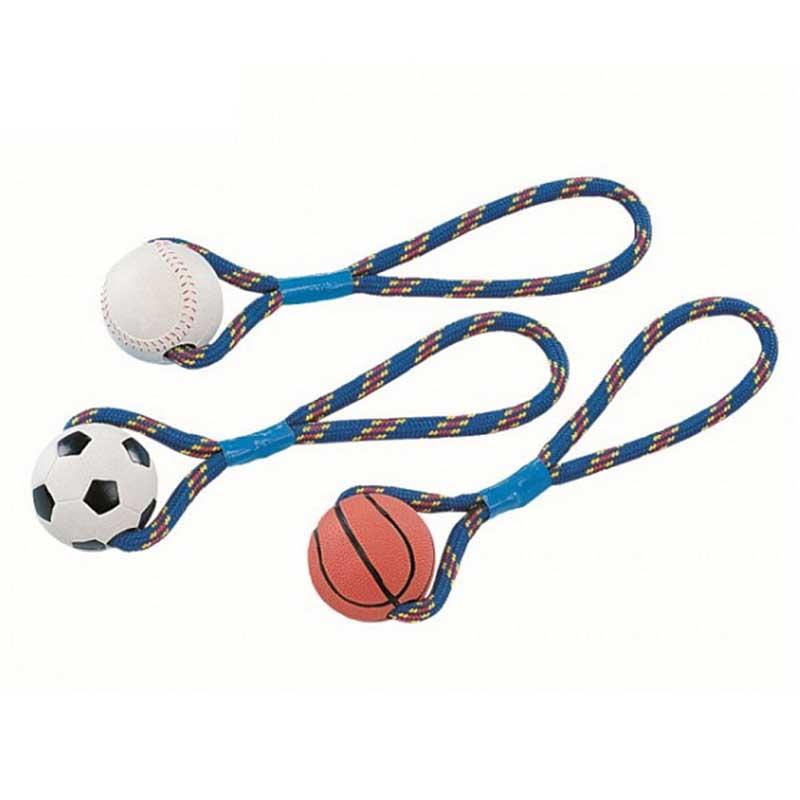 Nobby - топка с въже 300гр 8см