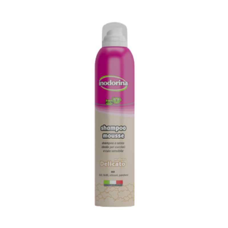 Inodorina Shampoo Mousse - мус за честа употреба с деликатен аромат 300мл