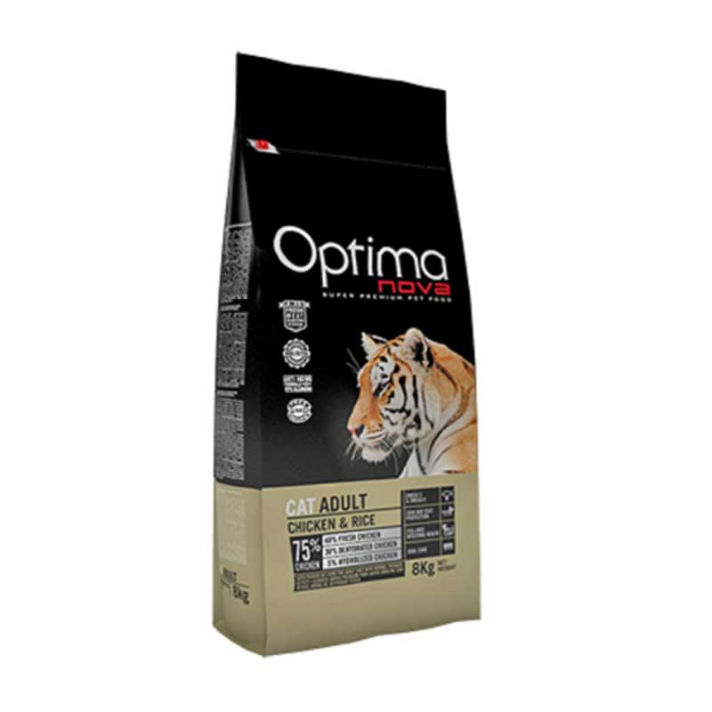 Optima Cat Adult Chicken & Rice 2кг