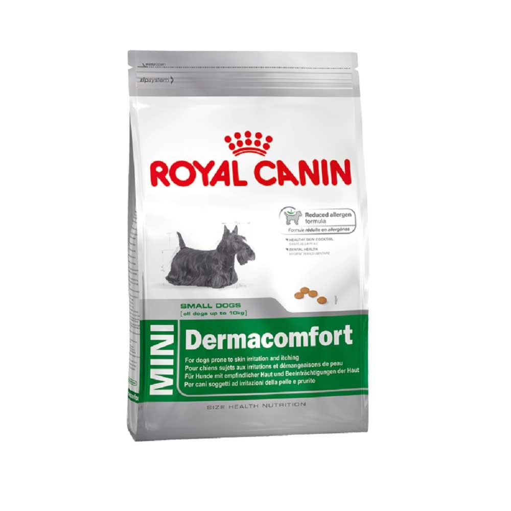 Royal Canin Mini Dermacomfort - за малки породи кучета с чувтстителна кожа