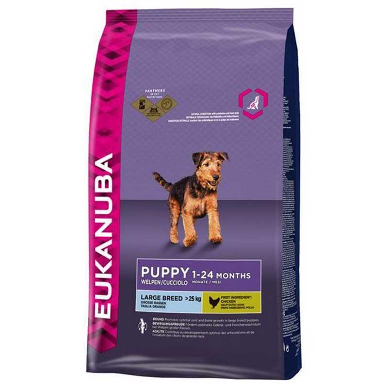 Eukanuba Puppy Large Breed - за кученца от големи/гигантски породи